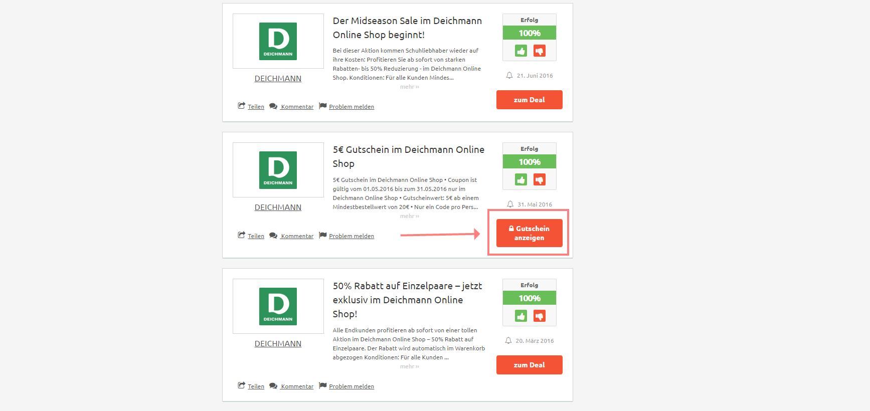 Deichmann Gutschein » Rabatte & Codes für September 2019